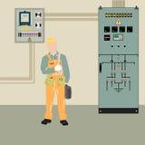 Электрик и оборудование Стоковые Изображения