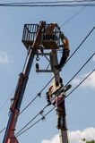 электрик Стоковая Фотография