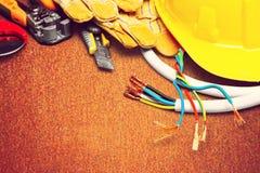 электрик Стоковые Изображения
