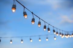 электрическая лампа Стоковое Изображение