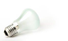 Электрическая лампочка винта подходящая на белой предпосылке Стоковые Фото