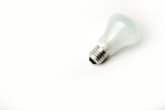 Электрическая лампочка винта подходящая на белой предпосылке Стоковое Изображение RF