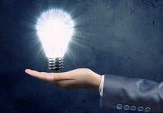 Электрическая лампочка Стоковые Фото