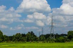 электрическая башня Стоковые Изображения