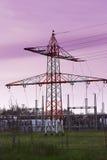 электрическая башня стоковое фото rf