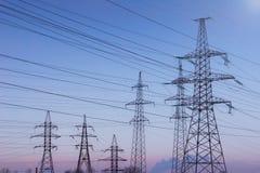 электрическая башня Стоковые Фото