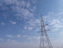электрическая башня стоковая фотография rf