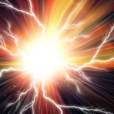 Электрическая внезапная предпосылка Стоковые Изображения RF