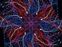 Электрическая волна Стоковое Фото