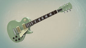 электрическая гитара Стоковое Изображение