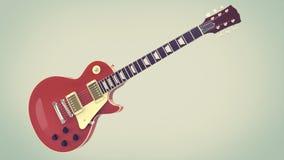электрическая гитара Стоковые Изображения
