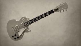 электрическая гитара Стоковое Изображение RF