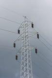 электрическая линия Стоковая Фотография
