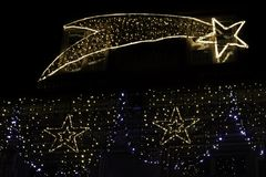 Электрическая комета просигналила Стоковые Фото