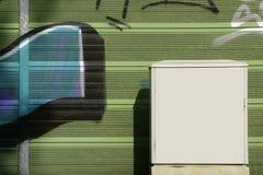 Электрическая коробка распределения Стоковые Изображения