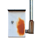 Электрическая коробка стоковое изображение rf