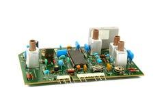 Электрическая доска изолированная на белой предпосылке Стоковая Фотография