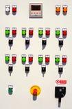 Электрическая доска пульта управления Стоковые Фотографии RF