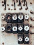Электрическая доска Стоковое фото RF