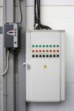 Электрическая панель коммутатора Стоковое Изображение