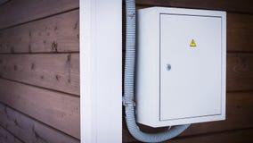 Электрическая панель частного дома Стоковое Изображение