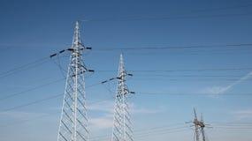 электрическая передача башен стоковые изображения