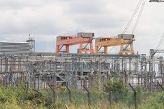 электрическая подводная лодка станции Стоковое Изображение