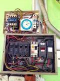 Электрическая распределительная доска Стоковые Изображения