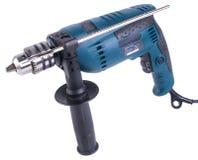 Электрическая дрель электрическая дрель на предпосылке Стоковое Изображение RF