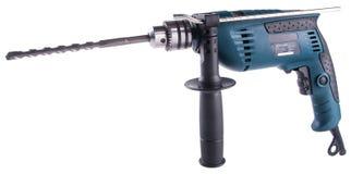 Электрическая дрель электрическая дрель на предпосылке Стоковое Изображение