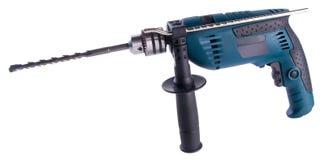 Электрическая дрель электрическая дрель на предпосылке Стоковая Фотография RF