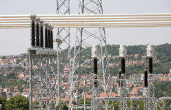 Электрическая система Стоковые Изображения