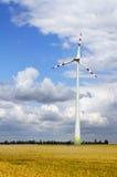 Электрическая станция энергии ветра стоковые фото