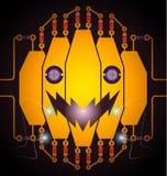 Электрическая тыква Стоковая Фотография RF