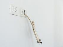 электрическая штепсельная вилка Стоковые Фотографии RF