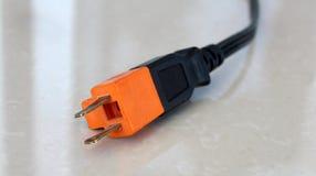 электрическая штепсельная вилка Стоковое Изображение