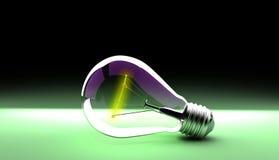 Электрическая электрическая лампочка стоковые изображения rf