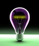 Электрическая электрическая лампочка стоковая фотография