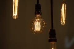 Электрические лампочки битника Стоковое Изображение RF