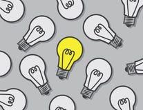 Электрические лампочки одно дальше бесплатная иллюстрация