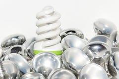 Электрические лампочки стоковая фотография rf
