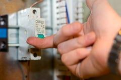 Электрические вещи Стоковые Изображения RF