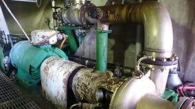 Электрические двигатели насоса в заводе Стоковая Фотография RF