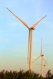 Электрические генераторы ветра Стоковые Фото