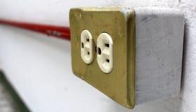 электрические гнезда Стоковые Изображения