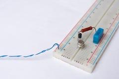 Электрические детали Стоковая Фотография
