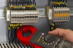 Электрические измерения Стоковое фото RF