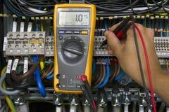 Электрические измерения Стоковая Фотография RF