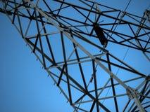 электрические линии передача силы Стоковые Изображения