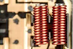 Электрические катушки Стоковое фото RF